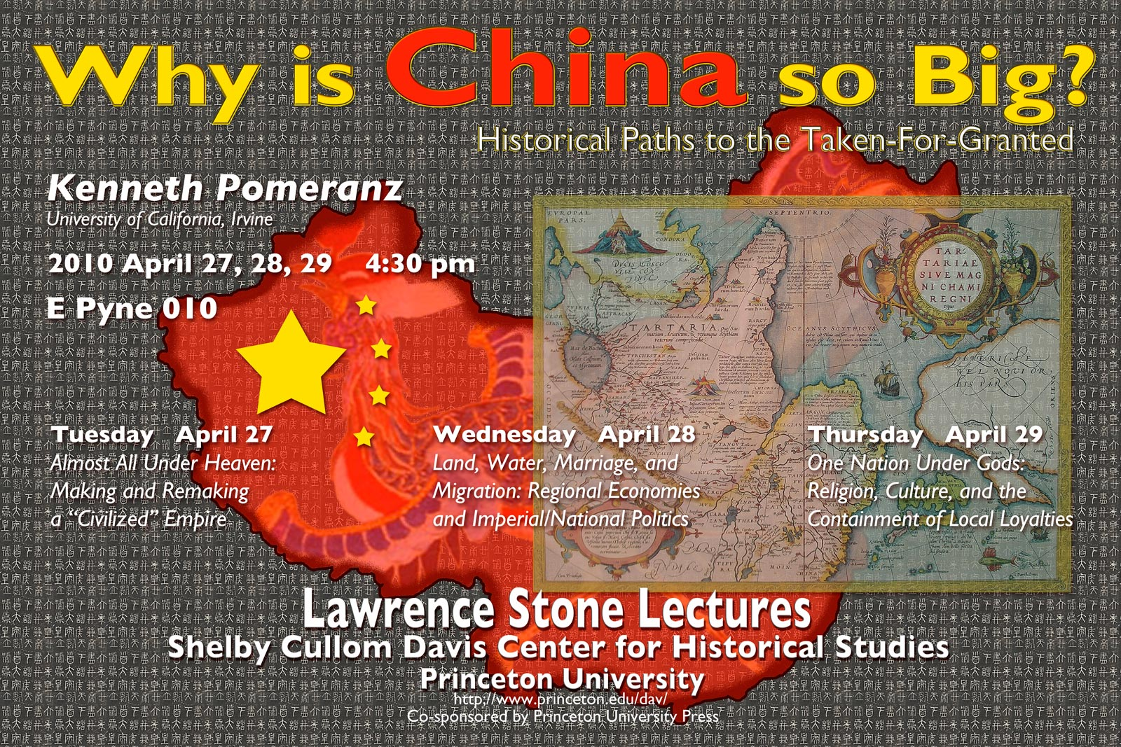 Why is China so Big? Kenneth Pomeranz poster