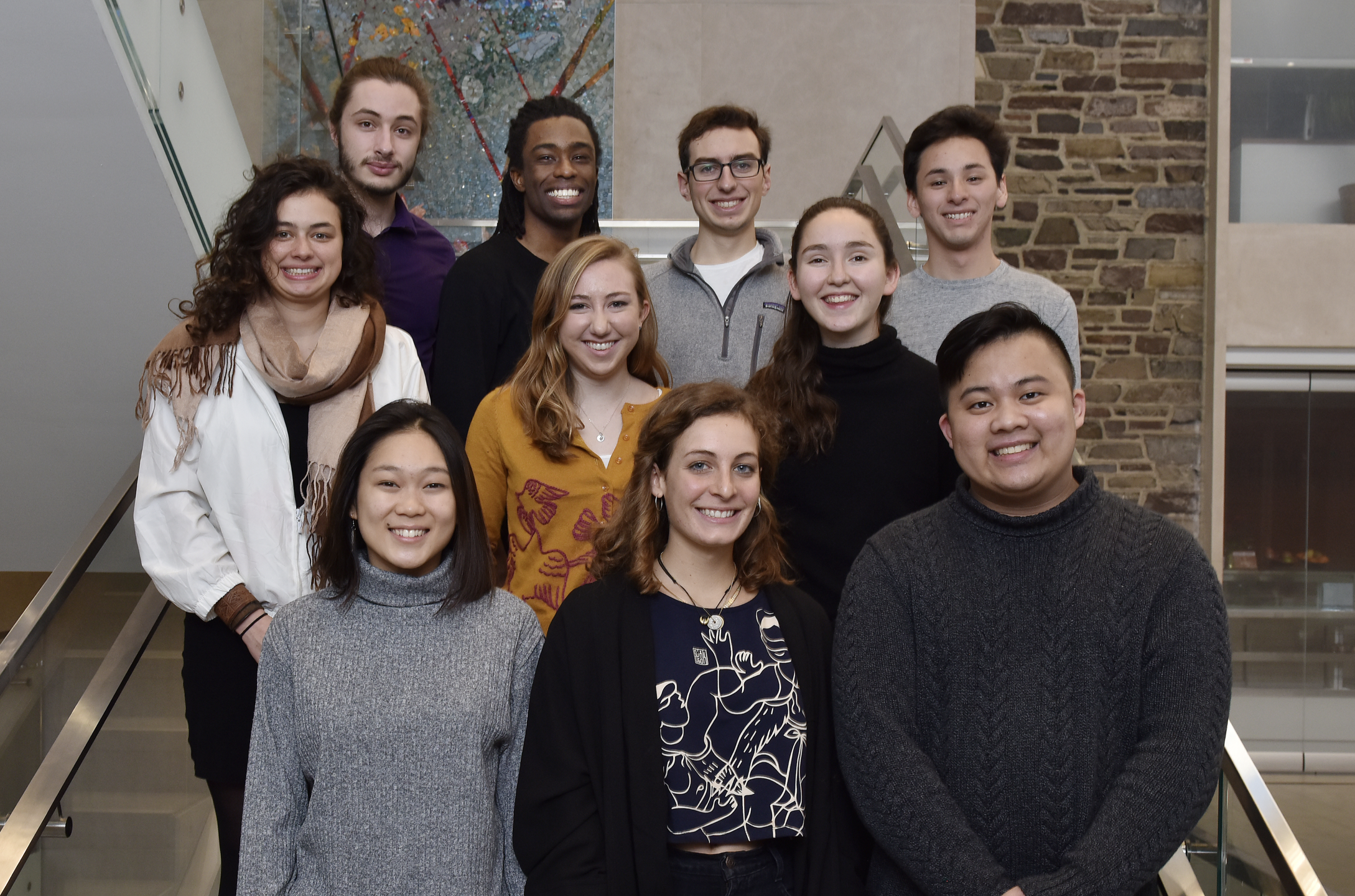 Nine outstanding juniors have been named the 2018 cohort of PIIRS Undergraduate Fellows. Photo by Mark Czajkowski
