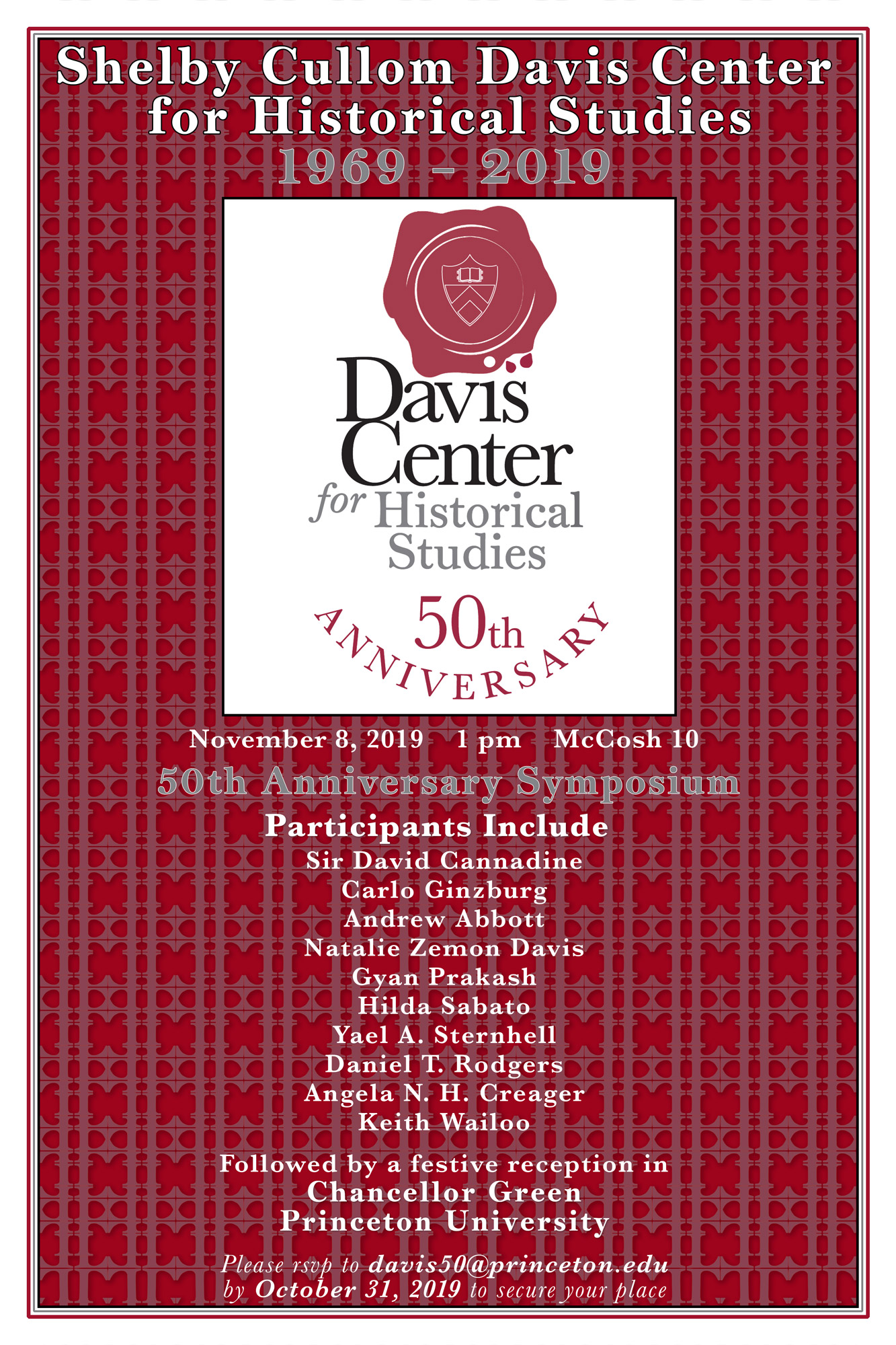 Poster for 50th Anniversary Celebration