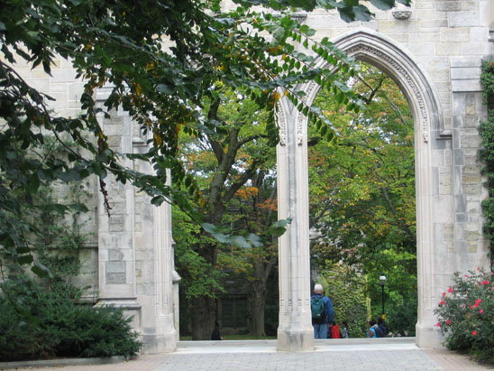 Dickinson Hall Arch