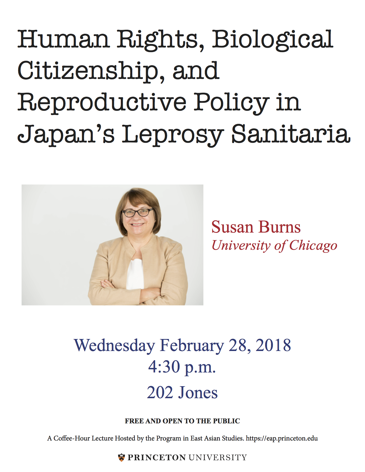 Poster for Human Rights, Biological Citizen, and Reproductive Policy in Japan's Leprosy Sanitaria