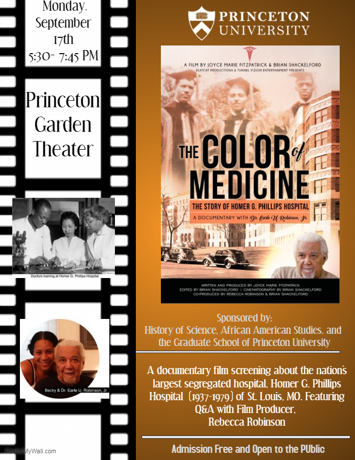 The Color of Medicine event poster