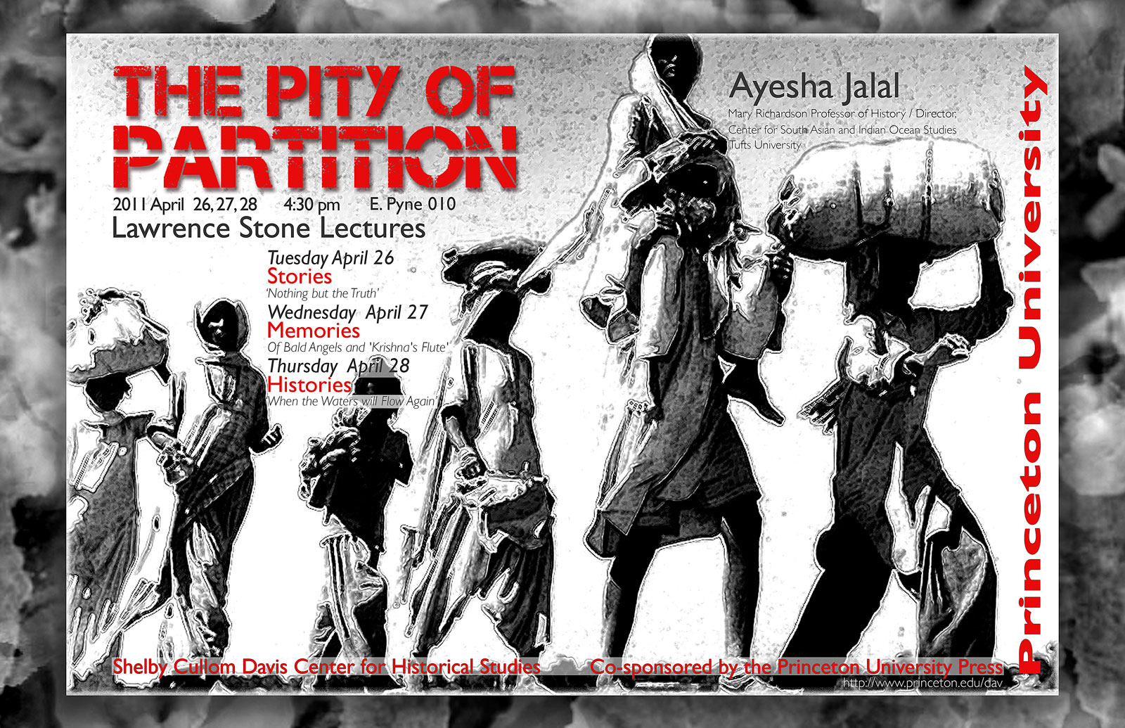 The Pity of Partition event poster
