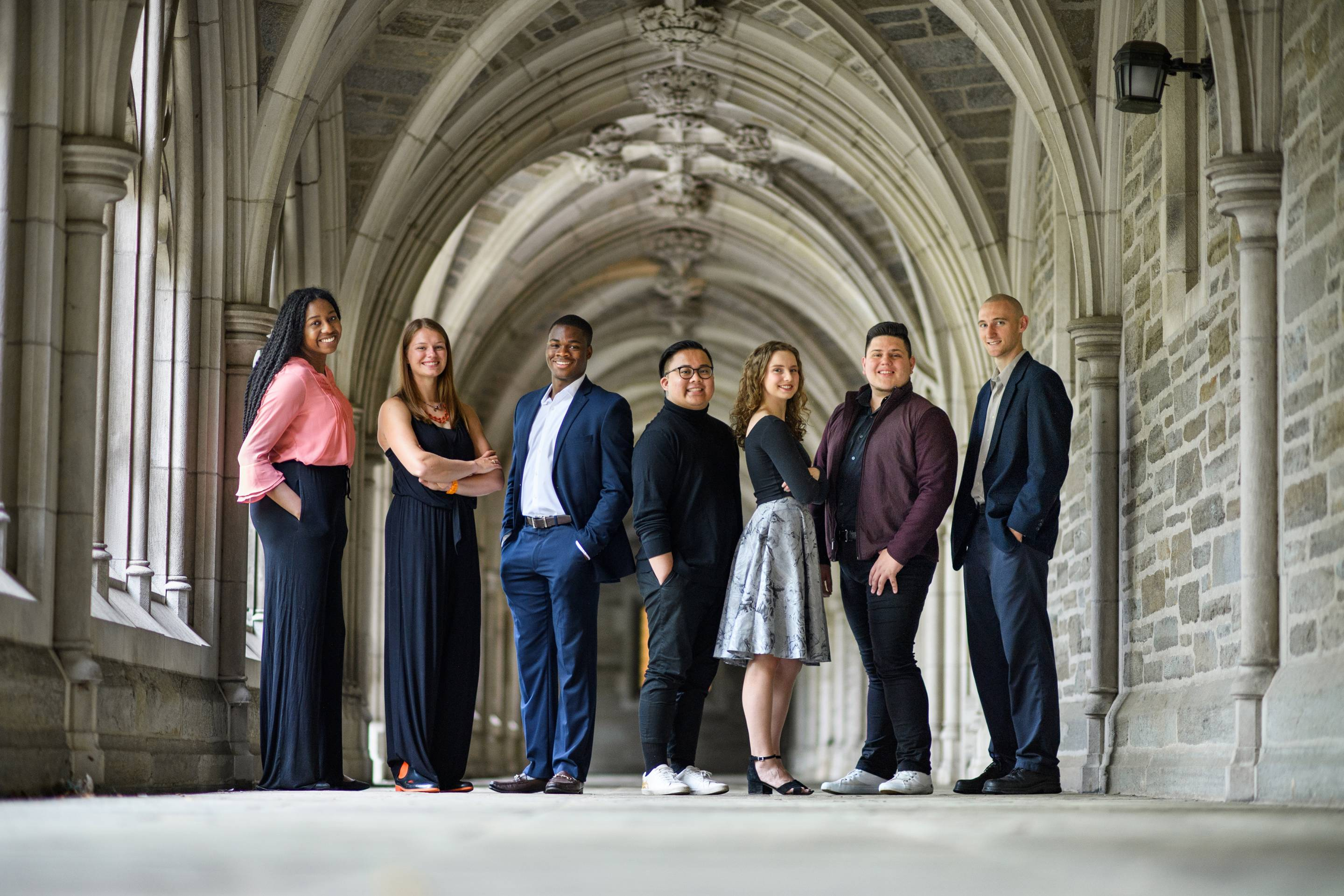 The Spirit of Princeton Award winners for 2019; Photo by Sameer A. Khan/Fotobuddy