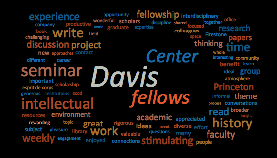 What past Shelby Cullom Davis Center fellows say