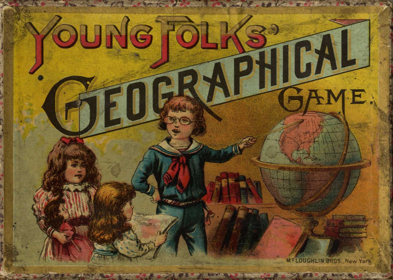 Young Folks' Geographical Game