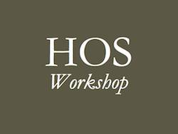 Annual History of Science Workshop