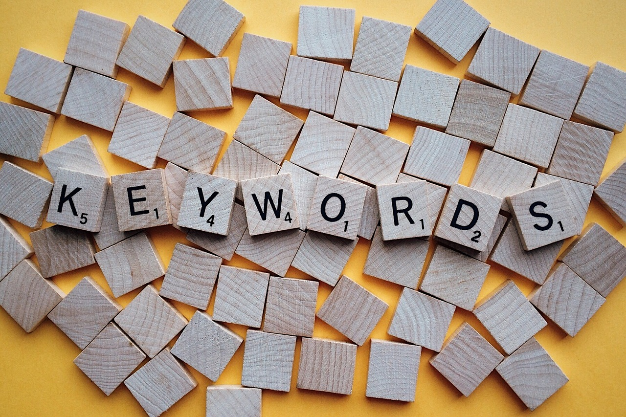 Keywords. Photo courtesy of Wokandapix. CC0 Creative Commons.