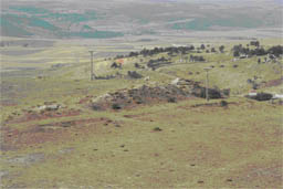 Kale Tepe: Vestiges of probable defensive wall, ditch and gateway
