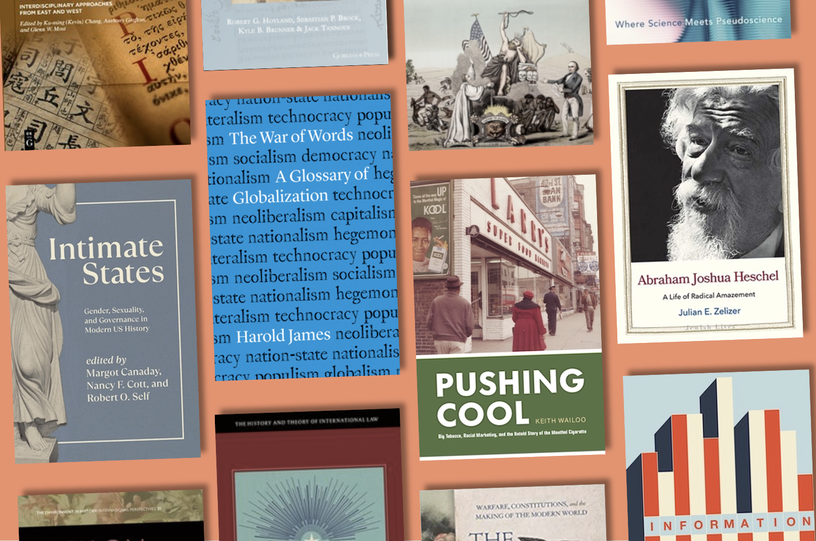 New books by Department of History Faculty Fall 2021