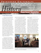 Newsletter 2015, Princeton History Department