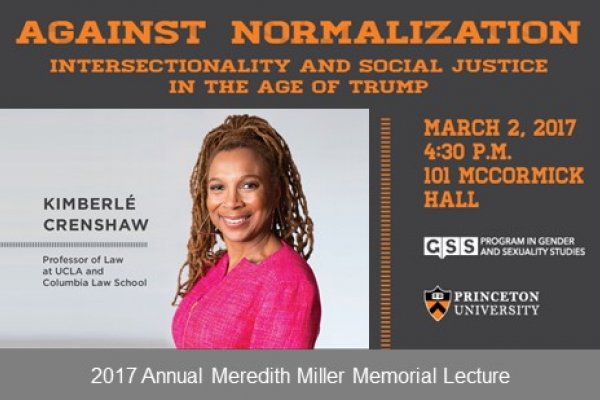 Crenshaw Lecture