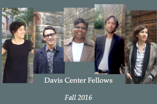 Davis Center Fellows Fall 2016