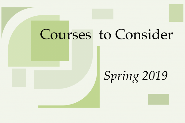Courses to Consider Fall 2017