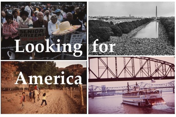 Looking for America. Images from the U.S. National Archives.