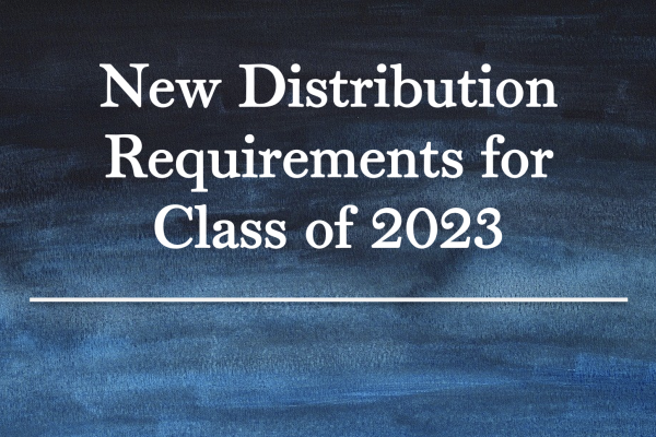 New Distribution Requirements for Class of 2023