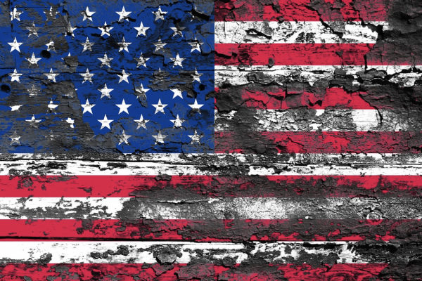 Weathered American Flag; Credit: Pixabay/Comfreak