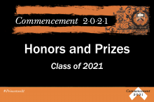 Class of 2021 History Honors and Prizes