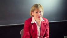 Angela N. H. Creager; Video still by Nick Barberio, Office of Communications