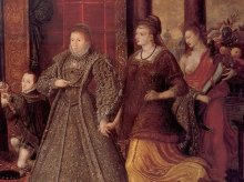 Detail from the ``The Family of Henry VIII: An Allegory of the Tudor Succession'', c. 1572