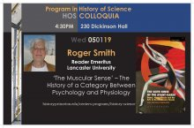 Roger Smith, History of Science Colloquium Speaker