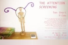 Poster for The Attention Screening: Ten Short Films