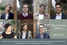Davis Center Fellows 2016-2017