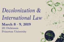 Decolonization & International Law Conference