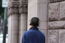 Man with headphones; Image credit: Pixaby/Stocksnap