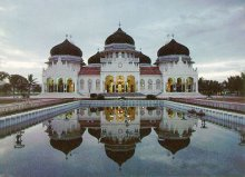 Indonesia Banda Aceh's Grand Mosque