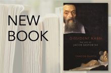 New Book: Dissident Rabbi by Yaacob Dweck