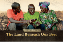 Screening of The Land Beneath Our Feet