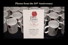 Poster and Matching Mug for the 50th Anniversary Celebration