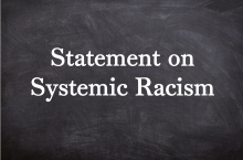Statement on Systemic Racism