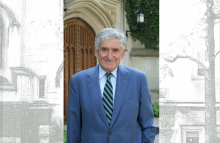 Theodore Rabb; Photo by Denise Applewhite, Office of Communications